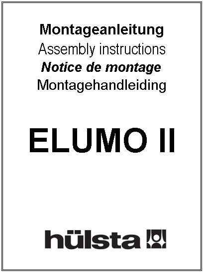 Montageanleitung Elumo Hülsta Service