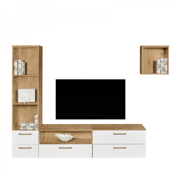 ArteM spot - TV Kombination mit Regalelement*